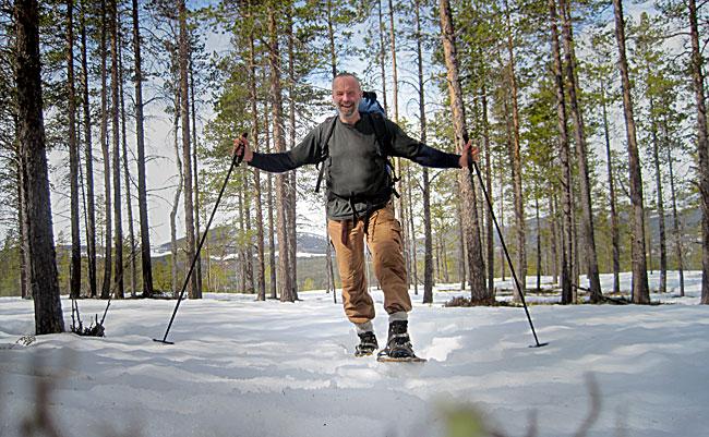 Truger er et alternativ når føret ikke innbyr til verken skigåing eller sledekjøring.