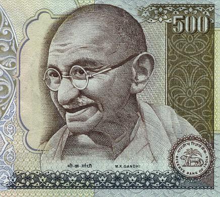 Mahatma Gandhi var et rikt menneske – uten å eie mye gods og gull.