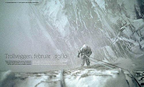 Trollveggen-minner i «Magazine»