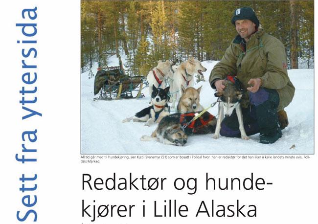 Faksimile fra Åndalsnes Avis