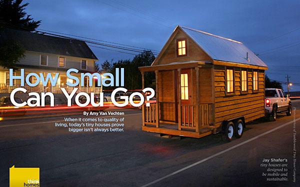 Lykken er et lite hjem (Thoreau's cabin redux)