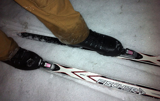 Vinterens første skitur