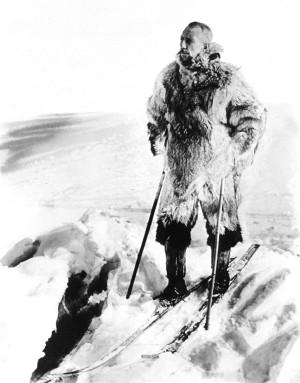 Roald Amundsens beretning fra den hasardiøse skituren over Hardanger forteller om både vågåmot og ubøyelig vilje til å utholde barske forhold.