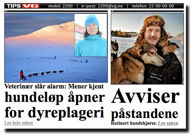 Åpent brev til Finnmarksløpet