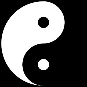 """Forestillingen om at at det finnes et komplementært """"prinsipp"""" i tilværelsen er antakelig like gammel som menneskeheten. Tai Chi-tegnet, i Vesten mer kjent som Yin Yang-tegnet, er det mest kjente symbolet fra kinesisk filosofi. Yin og yang symboliserer to motsatte, komplementære prinsipper som kald–varm, mørk–lys, passiv–aktiv og så videre. Som komplementære prinsipper forutsetter de hverandre, heller enn å utelukke hverandre. Det ene kan ikke finnes uten det andre. Yin står for det jordiske, yang det himmelske prinsipp. Overgangen mellom yin og yang er ikke skarp, men flytende."""
