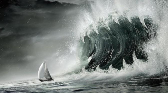 Den store bølgen, er det den store skrekken? Nei, uroen skyldes mer andre ting.