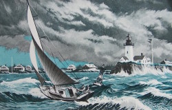 Seiling langs kysten kan være en krevende utfordring, med oppreven skjærgård og lunefulle vinder og havstrømmer.