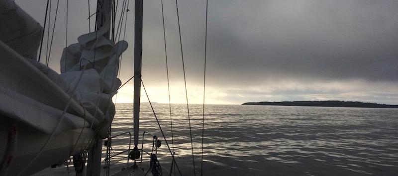 Fra Krogstadfjorden i Østfold.