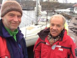 Gunnar Pharo fra Asker har lang fartstid som seiler og var en avgjørende faktor for at jeg fikk gjennomført seilasen rundt Norskekysten.