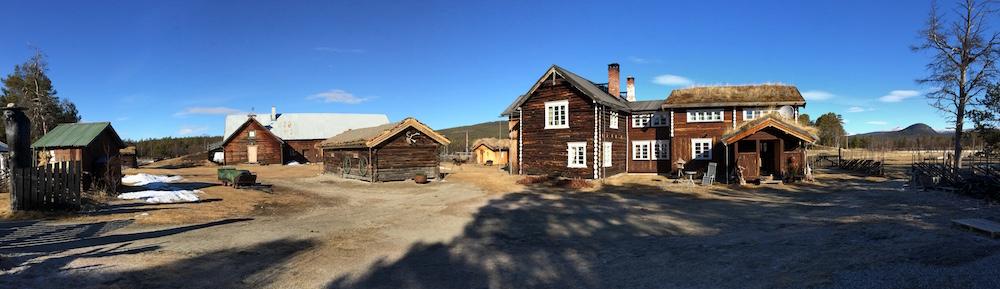 Kvebergøya gård i Folldal.
