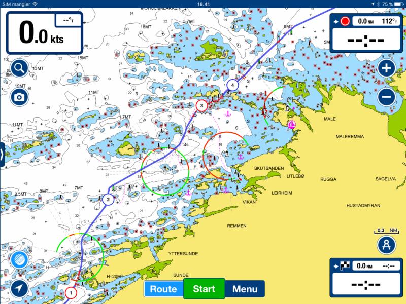 Kartet over Hustadvika gir et nokså forvirrende bilde av et labyrintisk landskap. Et utall grunner, skjær og holmer gjør at båtførere må holde tunga beint i munnen og navigere presist.