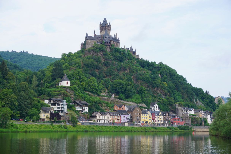Meuse, Mosel og Rhinen